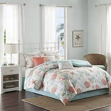 Beachy Comforters Sets Coastal Comforter Sets Amazon Com