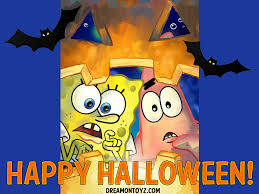 free halloween gif free cartoon graphics pics gifs photographs spongebob