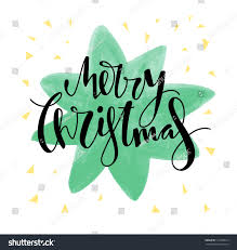 merry christmas card design vector illustration stock vector