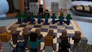 Cool Chess Boards by Minecraft Chess Sets Chess Forums Chess Com