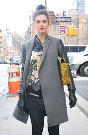 layers of outerwear new york street style new york fashion week