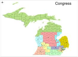 Political Us Map Redistricting In Michigan New Political Maps From The Michigan