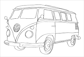 volkswagen bug drawing vw bug outline guinea