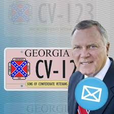 Georgia Flag License Plate The Email Exchange Leading To Georgia U0027s Reissue Of Confederate