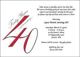 40th birthday party invitation wording stephenanuno com