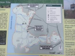 Manasquan Reservoir Map Gone Hikin U0027 Alloway Creek Watershed Wetland Restoration Site Nj