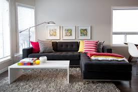 wondrous ideas black couch living room exquisite design living