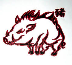 30 best chinese zodiac boar tattoos images on pinterest pigs