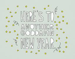 modern new years cards another goddman new year card by near modern disaster on postable