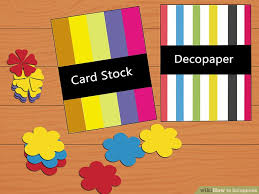 tutorial membuat scrapbook digital how to scrapbook with pictures wikihow