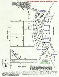 Louisiana Plantations Map by Battle Of Milliken U0027s Bend Madison Parish La