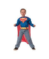 dc comics superman boys muscle movie costume shirt