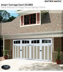 steel carriage garage doors amarr carriage court steel overlay doors
