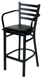 Bar Stool With Back And Arms Callee Arcadia Swivel Stool With Arms And Tall Back Upholstered