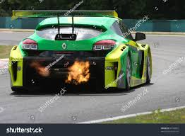 renault race cars budapest july 3 renault megane race stock photo 81766882