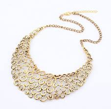 bib necklace designs images Gold bib necklace clipart jpg