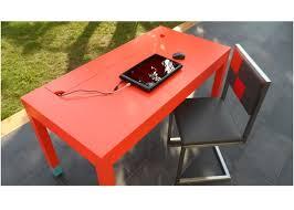 bureau connecté le bureau connecté en couleurs co pied mobilier les pieds sur la