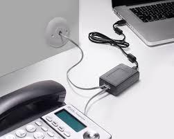 37 usb telephone recording adapter