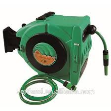 hose reel for garden wall mounted automatic retractable water