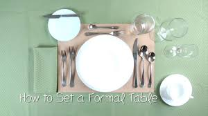 Setting A Table by How To Set A Table Job Tips Skills Info Pinterest