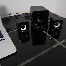 haut parleur pour ordinateur de bureau usb multimédia stéréo ordinateur haut parleurs 2 1 pour pc de