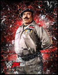 stone cold steve austin to grace the cover of wwe 2k16 maybe wwe 2k16 colonel mustafa character art by thexrealxbanks bens