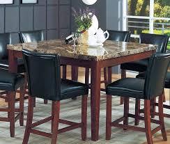 marble top dining room table granite top dining room table counter height marble top dining set