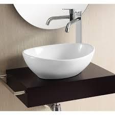 Ceramic Bathroom Vanity by Vessel Sink Bathroom Vanity Legion Wt9083 Ebony Finish Ceramic Top
