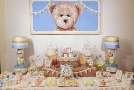teddy baby shower teddy the traditional theme baby shower ideas baby shower