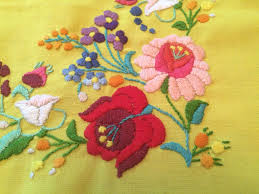 beautiful table cloth design hungarian floral embroidered table cloth made just for u