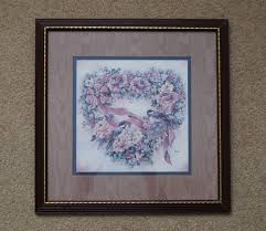 home interiors and gifts framed vintage 1990s homco home interiors and gifts chickadee and