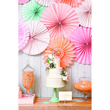 paper fans for wedding make your party pop with paper fan wedding decorations paper