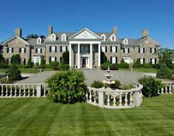 colonial mansion newly listed 13 75 million georgian colonial in greenwich ct
