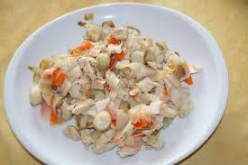 cuisiner crabe recette batonnets de crabe aux endives 750g