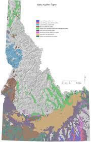 Isu Map Digital Geology Of Idaho Snake River Plain Aquifer