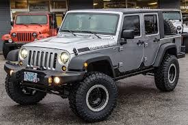grey jeep wrangler 4 door rubitrux jeep wrangler jk ext truck conversion