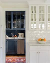 gray glazed white kitchen cabinets white glazed crackle subway tiles with glass front cabinets