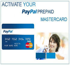 online prepaid card how to activate and use prepaid paypal card online