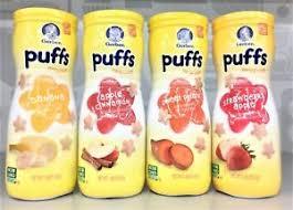 graduates snacks gerber graduates puffs variety 4 pack baby cereal snacks ebay