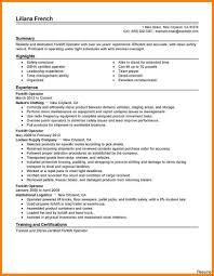 exle of a warehouse resume uncategorized remarkable experience and executive forklift