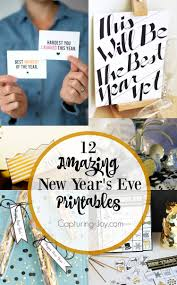 12 new year u0027s eve printables capturing joy with kristen duke
