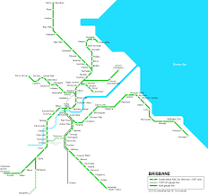 Sydney Subway Map by Brisbane Subway Map For Download Metro In Brisbane High