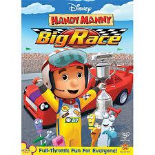 handy manny big race dvd shopdisney