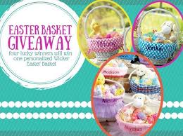 personalized wicker easter baskets 75 best easter with lillian vernon images on lillian