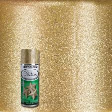 Home Depot Paint Prices by Rust Oleum Specialty 10 25 Oz Gold Glitter Spray Paint 267689