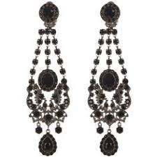 black chandelier earrings black chandelier earrings tear drop jet black chandelier