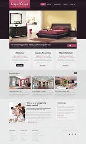 interior designing websites interior design website template