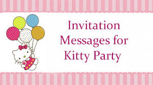 fine kitty party invitation karva chauth awesome