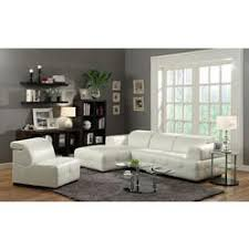 Modern White Bonded Leather Sectional Sofa Tosh Furniture Modern White Leather Sectional Sofa