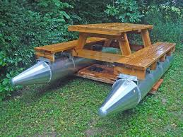 floating picnic table for sale the craziest watercraft you ve ever seen redneck boats coming